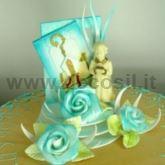 Stampi per la decorazione di torte per cerimonie for Decorazioni torte per cresima