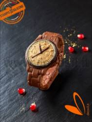 Man Wrist Watch 3D silicone chocolate Mold